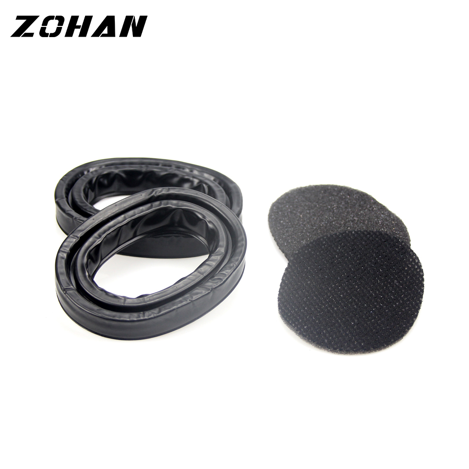 Image 5 - ZOHAN One Pair Silica Gel Ear Pads for 3M Peltor Earmuffs ZOHAN Replacement Ear Cushion Kit for Ear Defenders ProtectionEar Protector   -