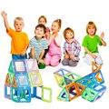 120 ШТ. Строительные Блоки Мини Магнитные детские Книги Детские игрушки Просветить Магнитный Building Blocks Construction Set