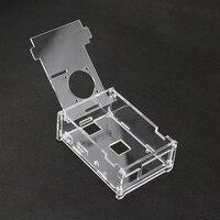 Raspberry Pi Acrylic case transparent box for Raspberry PI B also apply to Raspberry pi 2