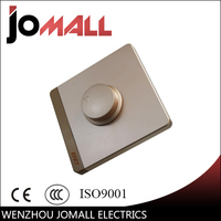 Glass Panel Dimmer Switch Home Use Light Dimmer Switch Brightness Adjustable Controller Knob Switch Light Dimmer