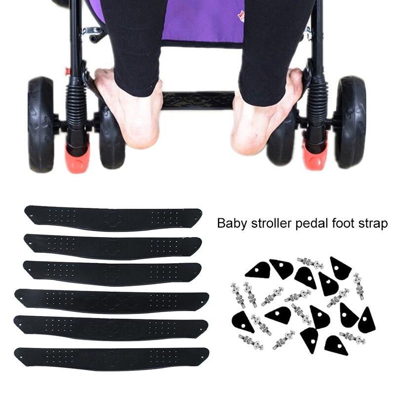 Pedal Baby Footrest Stroller Footboard Foot Rest Plastic Black Pram Baby Buggy Infant Toddler Premium Quality