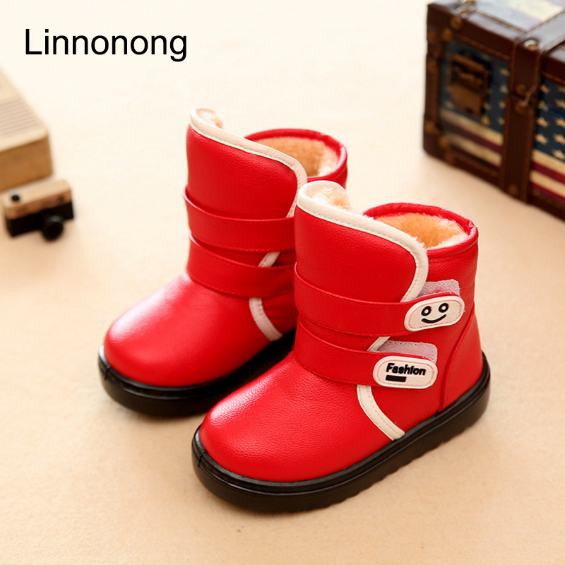 Winter-Kids-Plush-Snow-Boots-Children-Boys-Girls-Fashion-Boots-Antislip-High-Thick-Waterproof-Shoes-White-Black-Red-Child-Boots-1