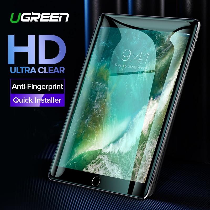 Ugreen para iPad Protector de pantalla de cristal para iPad 2018 Pro 2018 de 9,7 pulgadas Protector de pantalla para iPad de pantalla de cristal protector
