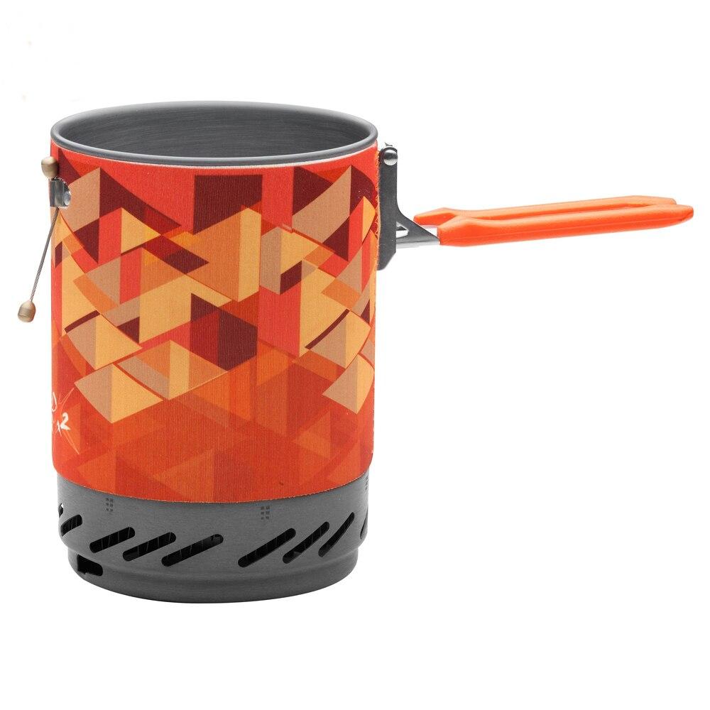 Système de cuisson personnel extérieur érable feu randonnée équipement de Camping OvenPortable meilleur poêle à gaz Propane brûleur ensemble Pot de FMS-X2 - 4