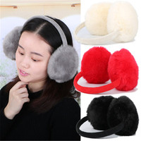 49 Off 2016 Hot New Earmuffs Winter Women Fluffy Faux Fur Earmuffs Ear Warmer Ear Muffs