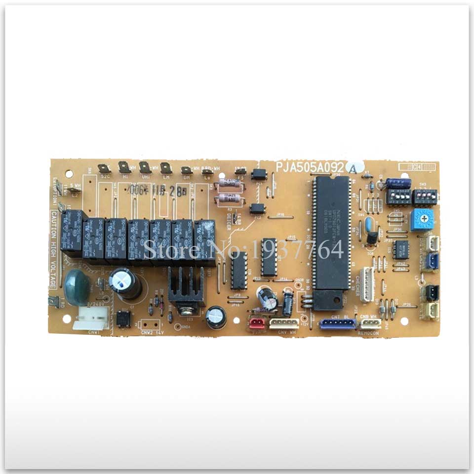 used board for Air conditioning computer board circuit board PJA505A092A good working air conditioning parts computer board 30549501 dashboard jb9523 used disassemble