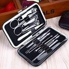 12PCS Pedicure/Manicure Set Nail Clippers Callus Remover Pedicure Kit Tools