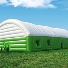 Новые гигантские надувные вечерние палатки, Настраиваемые палатки на продажу, рекламные надувные палатки