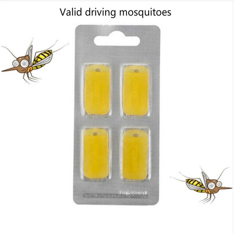 4 Adet Kovucu Sivrisinek Sihirli Bilek Bandı Yerine Modülü Açık Kamp Uzaklaştırıcı Bilezik toksik Olmayan Böcek Kovucu