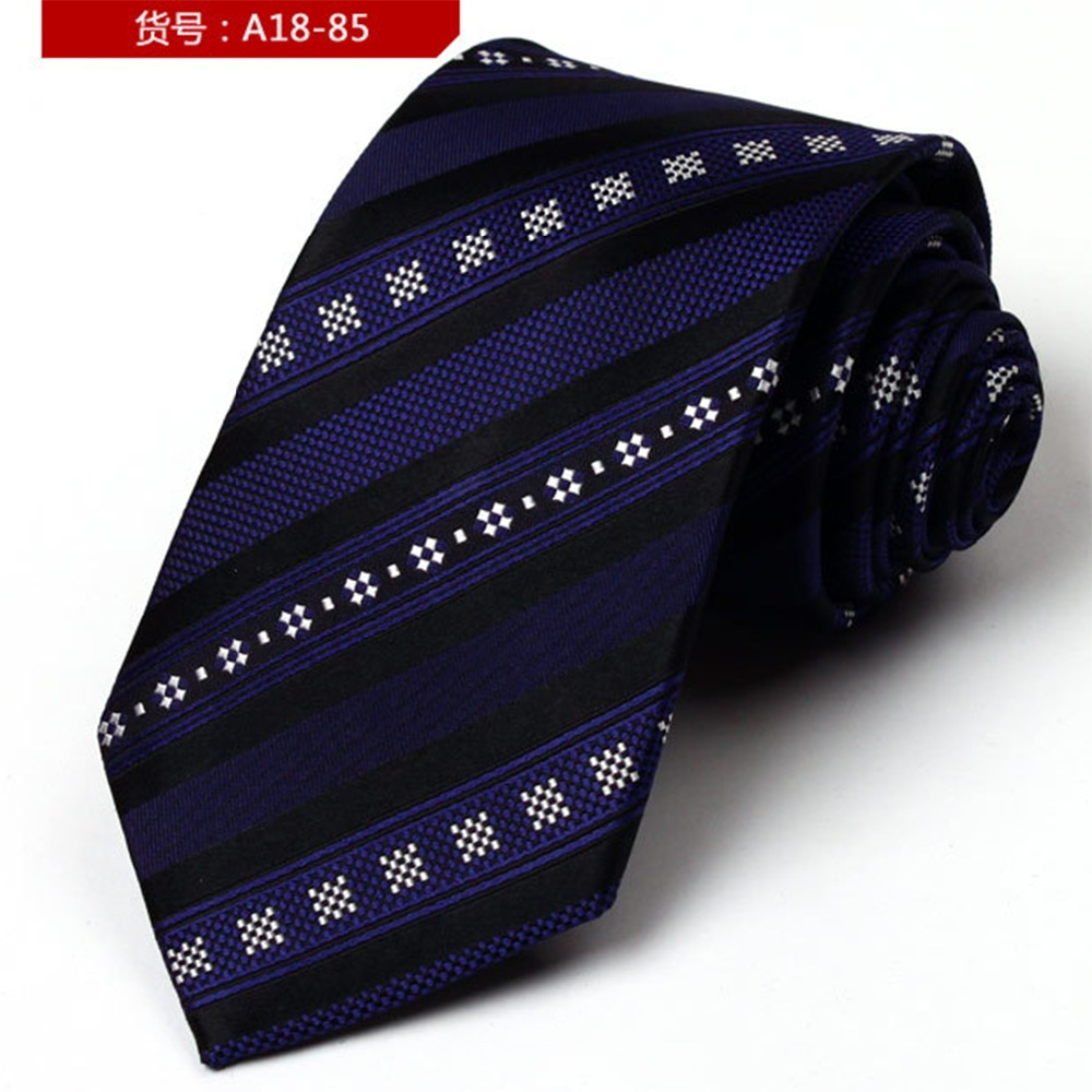 Shirt Neck Tie Jacquard Gravatas Vintage Print Silk Tie Fashion Mens Ties Cravat Necktie Onesize Ties For Men DaA18-85