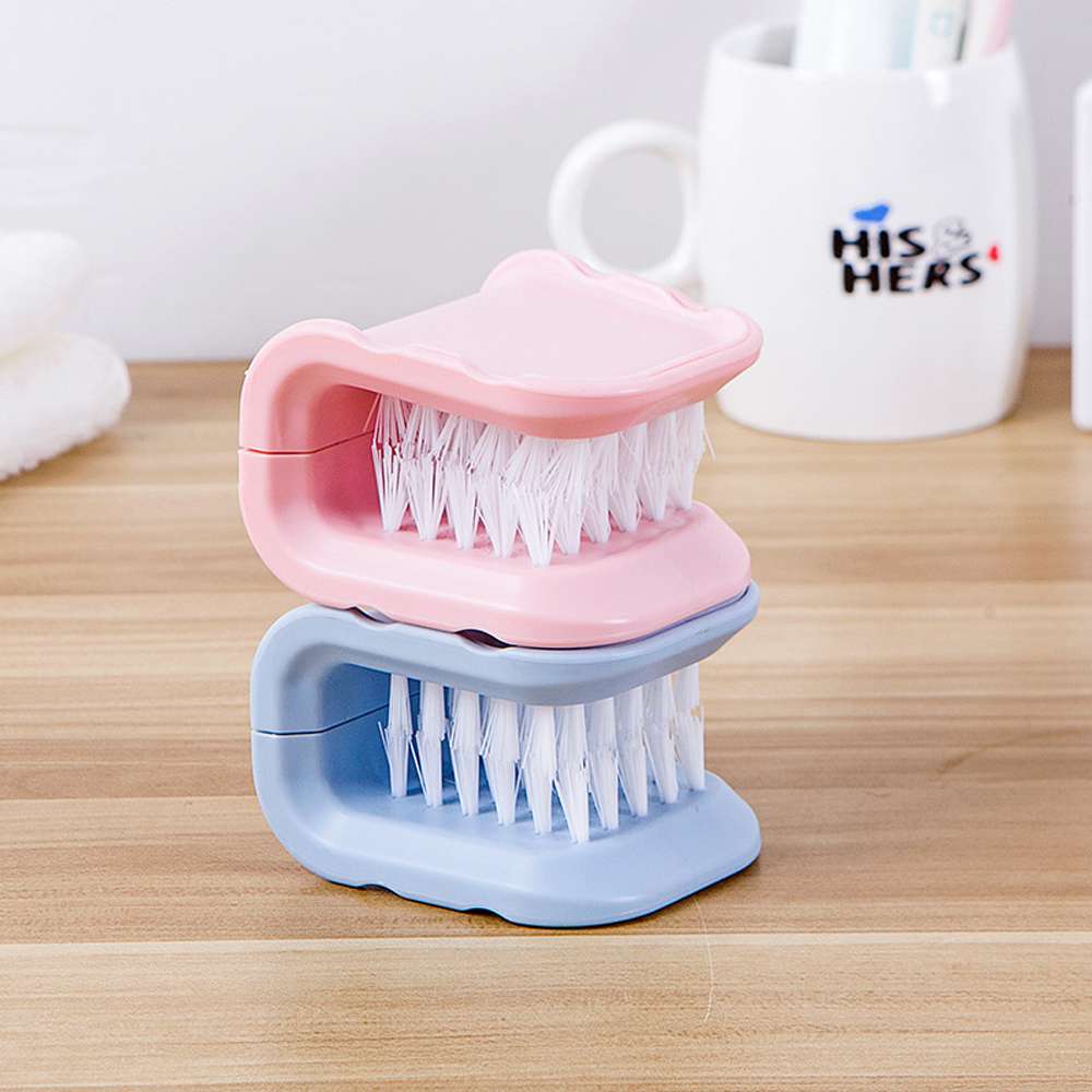 Image 3 - 1pcs ABS Multifunctional Cleaning Brush Dish Washing Scrubber Kitchen Household Brush Tools for Knife Pots Chopstick Cleaning-in Cleaning Brushes from Home & Garden