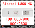 Alcatel desbloqueado aircard l800 4g lte usb modem 4g dongle lte fdd 3g 4g usb Módem de Banda Ancha pk e3372 e3272 e3276 w800 l800o