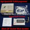 USB MiniPro Programador TL866A BIOS SPI EPROM FLASH 8051 AVR GAL PIC Com pinos ZIF Soket Preto! suportar mais de 13000 fichas!
