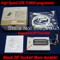 USB MiniPro TL866A BIOS Programmer EPROM SPI FLASH 8051 AVR GAL PIC With 40-pin Black ZIF Soket ! Support more than 13000 chips!
