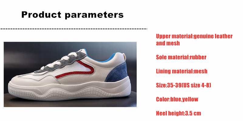 DONGNANFENG Women Female Gril Genuine Leather Mesh White Shoes Flats Platform Sneakers Lace Breathable Vulcanized Shoes ML PG118 in Women 39 s Vulcanize Shoes from Shoes