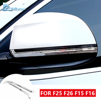 Airspeed for BMW X3 F25 X4 F26 X5 F15 X6 F16 Accessories for BMW F25 X3 F26 X4 F15 X5 F16 X6 Car Rear View Mirror Mouldings Trim