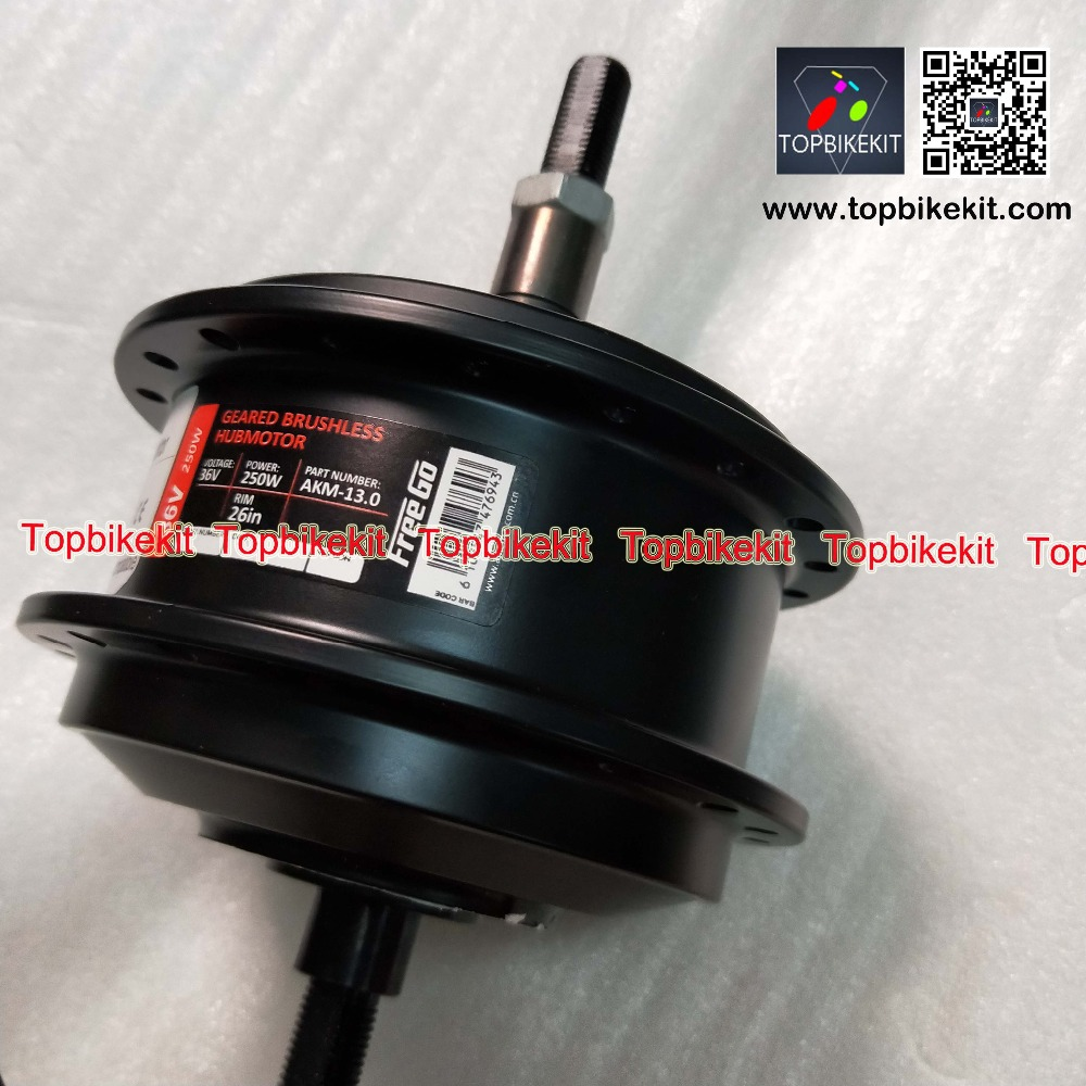 AKM 100 36V 250W Rear motor RPM 201 Ebike 36V 250W hub motor fork size 135mm