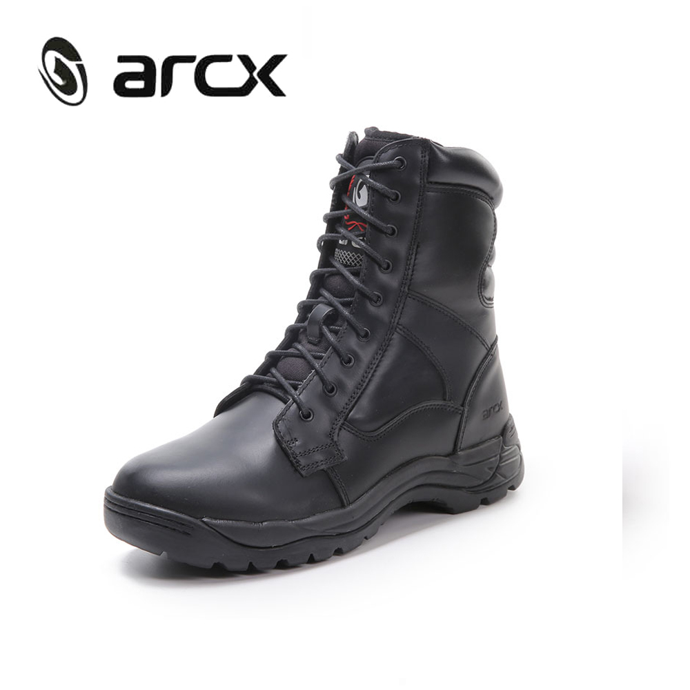 Aliexpress.com : Buy ARCX Genuine Cow Leather Motorcycle Boots ...