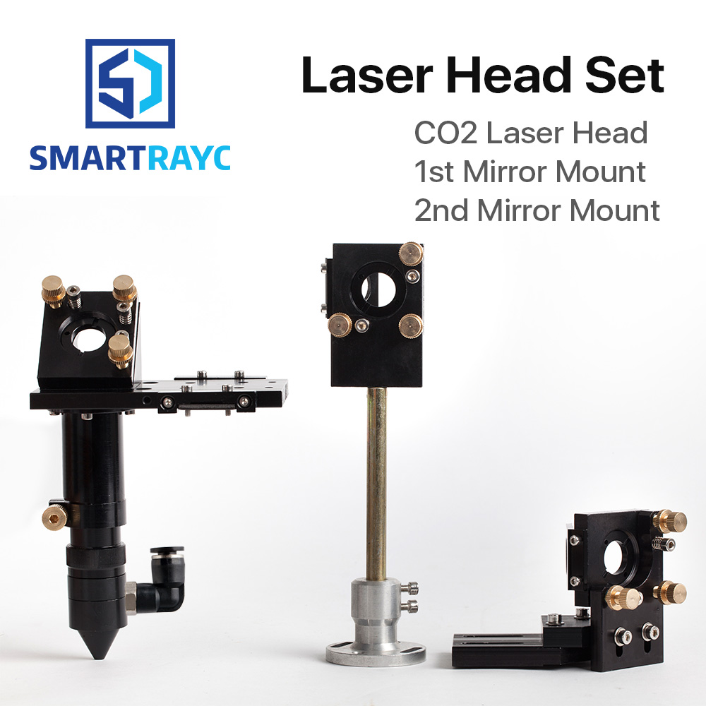 Smartrayc HQ CO2 Laser Head Focus Lens 20mm Reflective Mirror 25mm Integrative Mount Laser Engraving and Cutting Machine цена