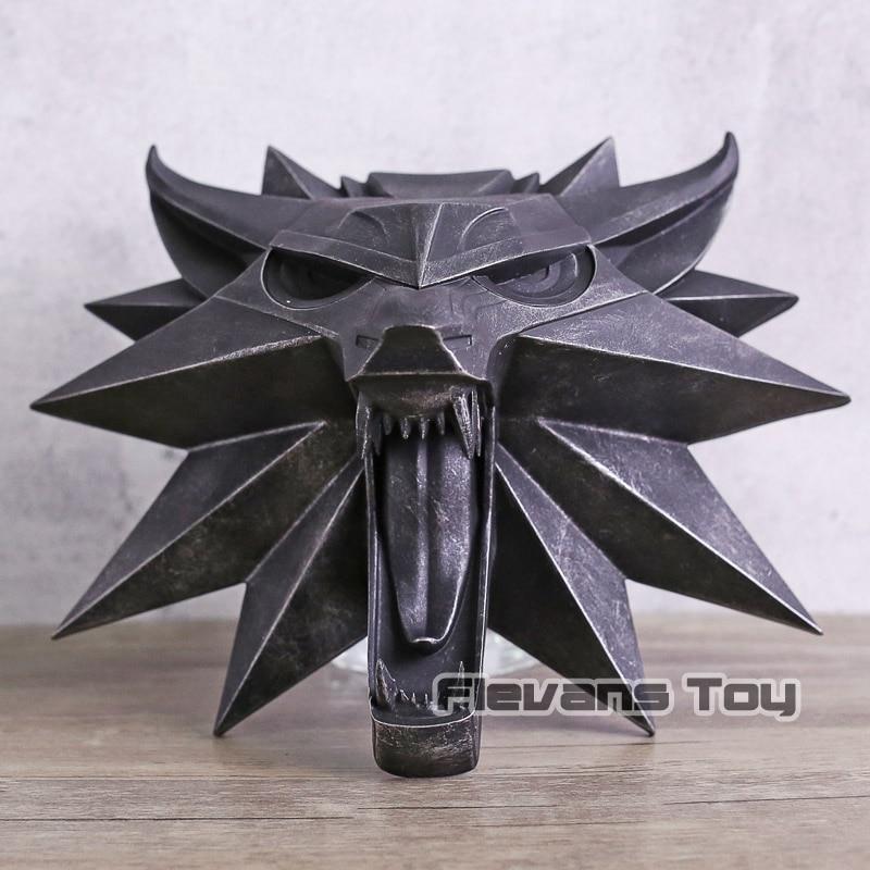 Cheval noir Deluxe The Witcher 3 chasse sauvage loup mur Sculpture Statue Figure à collectionner jouet maison loup mur Sculpture