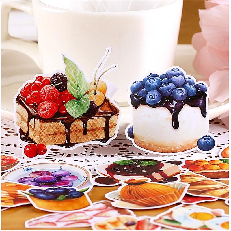 20pcs Creative Cute Self-made Only Love That Sweet / Dessert Scrapbooking Stickers /decorative Sticker /DIY Craft Photo Albums