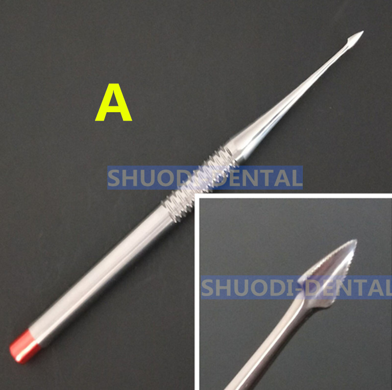 1 Pcs Dental Implant Luxating Root Tooth Elevator Knife Extraction Dentist Instruments Tool German Stainless Steel in Teeth Whitening from Beauty Health