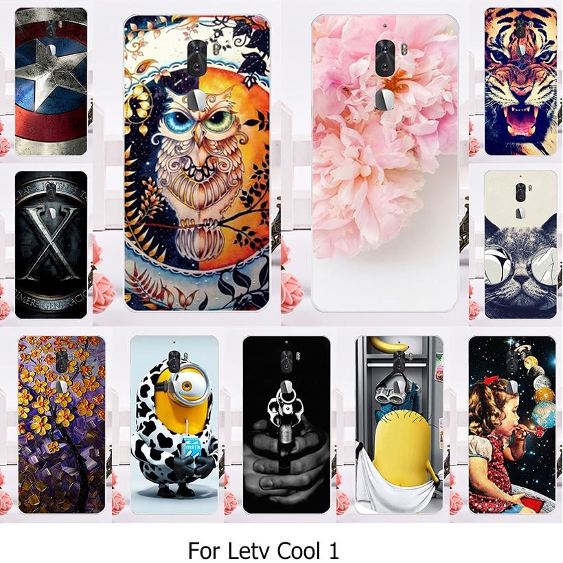Casos de teléfono para enfriar 1 letv letv leeco fresco 1 dual leeco cool1 coolp