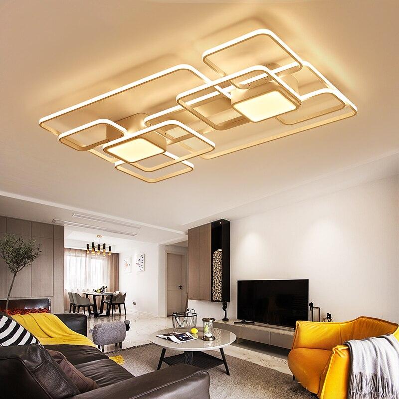 US $95.04 28% OFF|LICAN Moderne Led deckenleuchten wohnzimmer schlafzimmer  Ac85 265V leuchte plafonnier Led deckenleuchte lustre de plafond moderne-in  ...