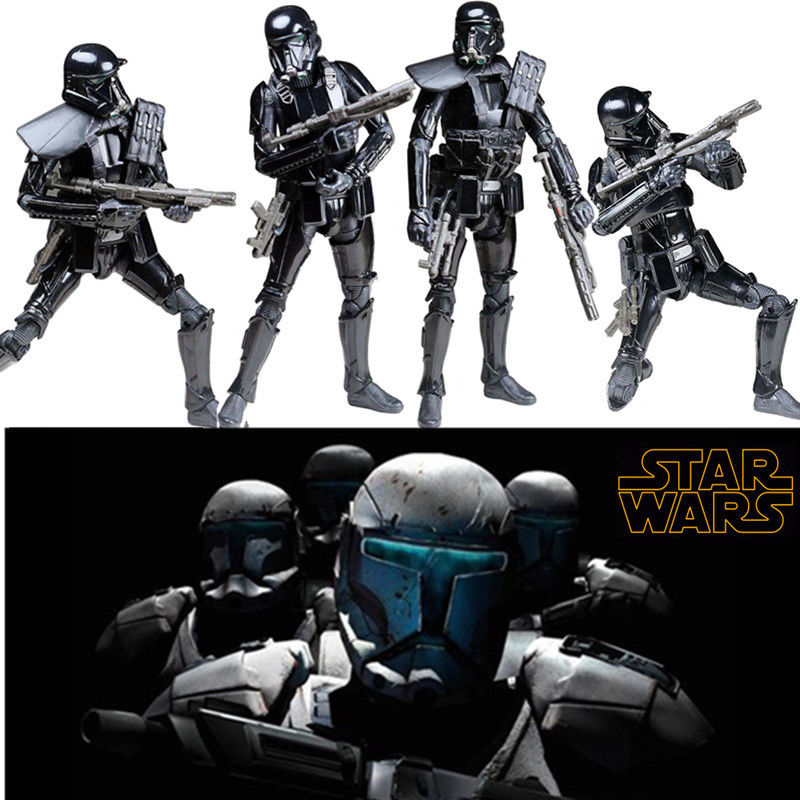 Star Wars Rogue One Black Series Figure Imperial Death Trooper Action Figure Model Stormtrooper Toys for Children Gift 6
