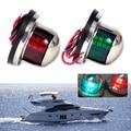 Marine Boat Yacht Light 12V LED Bow Navigation Lights Red Sailing Signal Light Boat Yacht Marine Led Traffic Light Trafficking