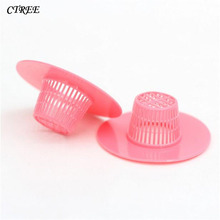 CTREE 6pcs/Set Creative Kitchen Sink Strainer Bathroom Shower Hair Drain Drains Cover Colander Sewer Filter Strainers C572
