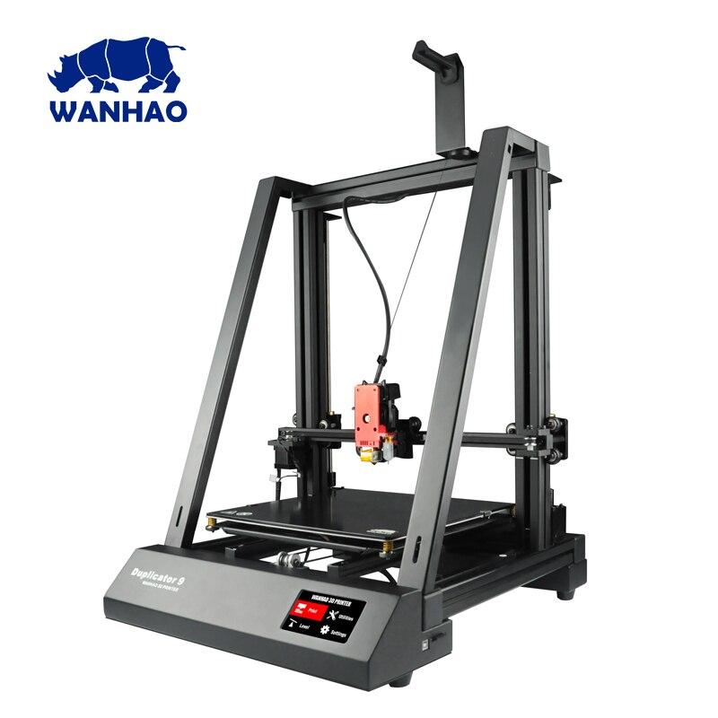 2018 Date 400*400*400mm Grande Taille WANHAO usine de bureau FDM/FFF grand format D9 400 3D imprimante Avec Auto Nivellement BL tactile