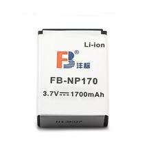 NP170 CB-170 CB170 FNP85 lithium batteries For ORDRO HDV-D325 HDV-D370 For SPEED HD230 For FUJIFILM SL305 Digital Camera Battery