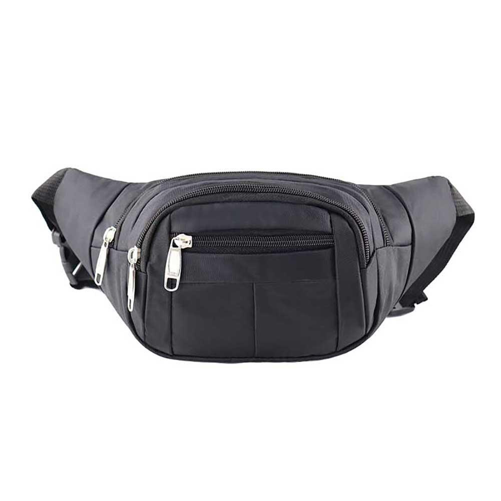 Unisex Outdoor Sports Waist Bag Waterproof Zipper Fanny Pack Leg Pouch