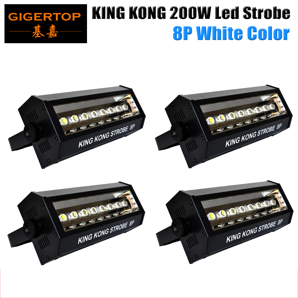 Freeshipping 4 Unit 8*20w Led Big Strobe Light White Flash Auto/sound/dmx512/exposure/blinking Cycle Adjust Strobe Speed Dimmer Back To Search Resultslights & Lighting Commercial Lighting