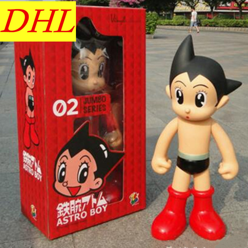 55 CM Cartoon Astro Boy ATOM Peter Pan Tokyo Atom Gifts For Children PVC Action Figure Collectible Model Toy L355 astro boy volume 7