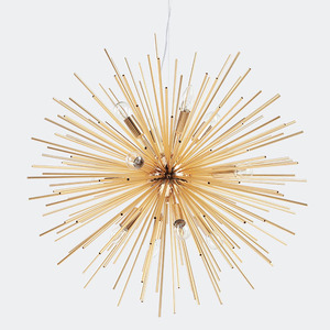 Image 5 - Lampade a sospensione nordiche soggiorno antico lampade a mano oro artistico illuminazione a LED Luminaria industriale decorazione domestica moderna