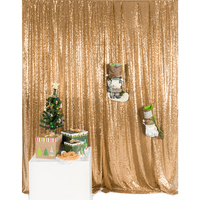 Gold Sequin Backdrop Photograph Backdrops Wedding Photo Booth backdrops Sequin curtains Drape Sequin panels Party Decor