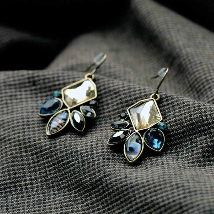 KISS ME Statement Jewelry Fashion Classic Irregular Geometric Plant Flowers Drop Earrings Factory Wholesale