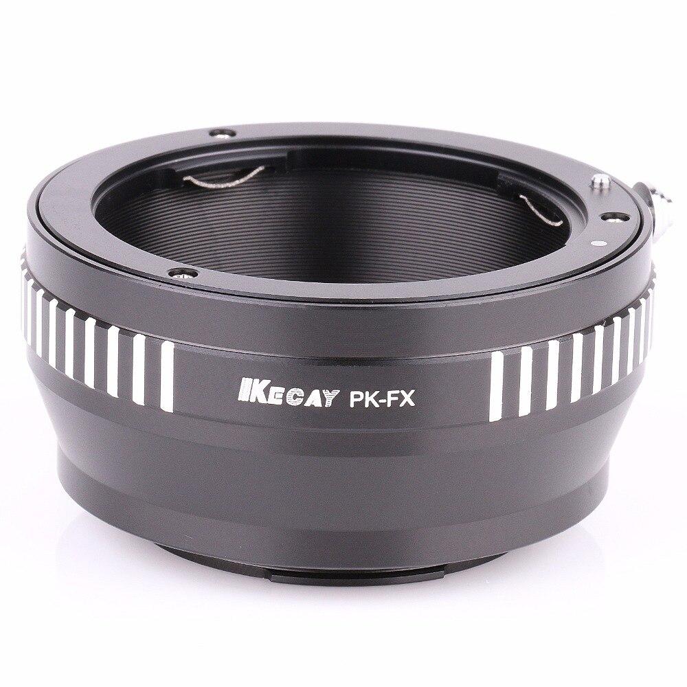 PK-FX lentille adaptateur pour Pentax K PK monture pour Fujifilm X-Pro1 FX Adaptateur caméra interchangeables 4