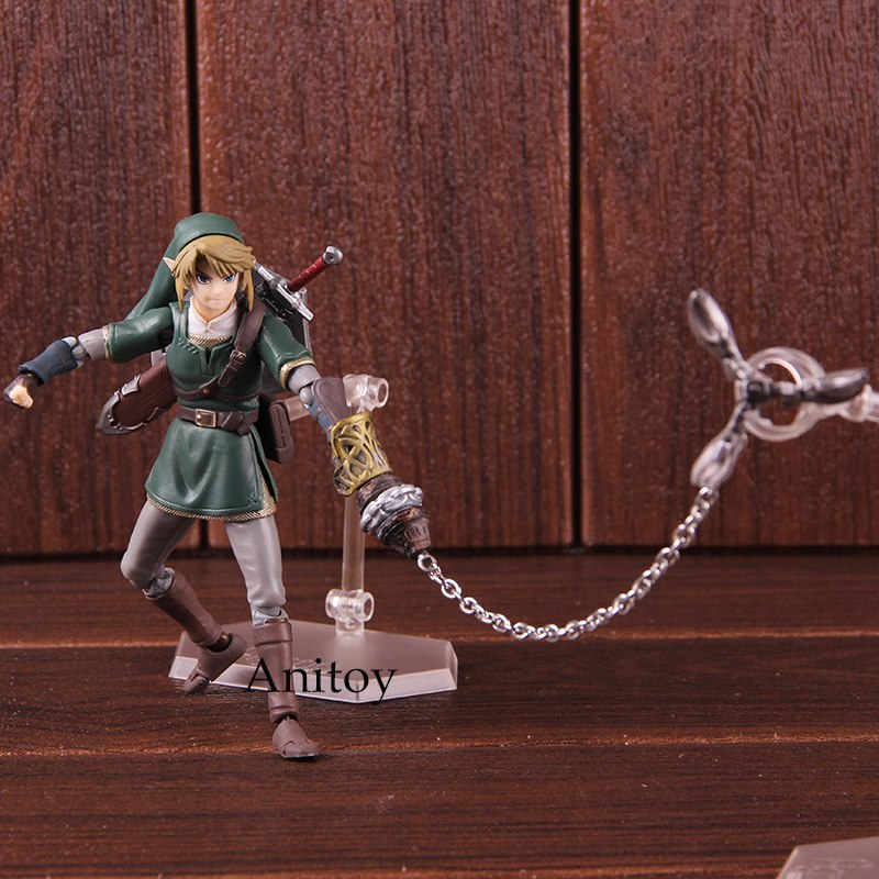 Figma 320 Link Twilight Princess Ver. DX Edition The Legend of Zelda Twilight Princess PVC Action Figure Collectible Model ToyFigma 320 Link Twilight Princess Ver. DX Edition The Legend of Zelda Twilight Princess PVC Action Figure Collectible Model Toy