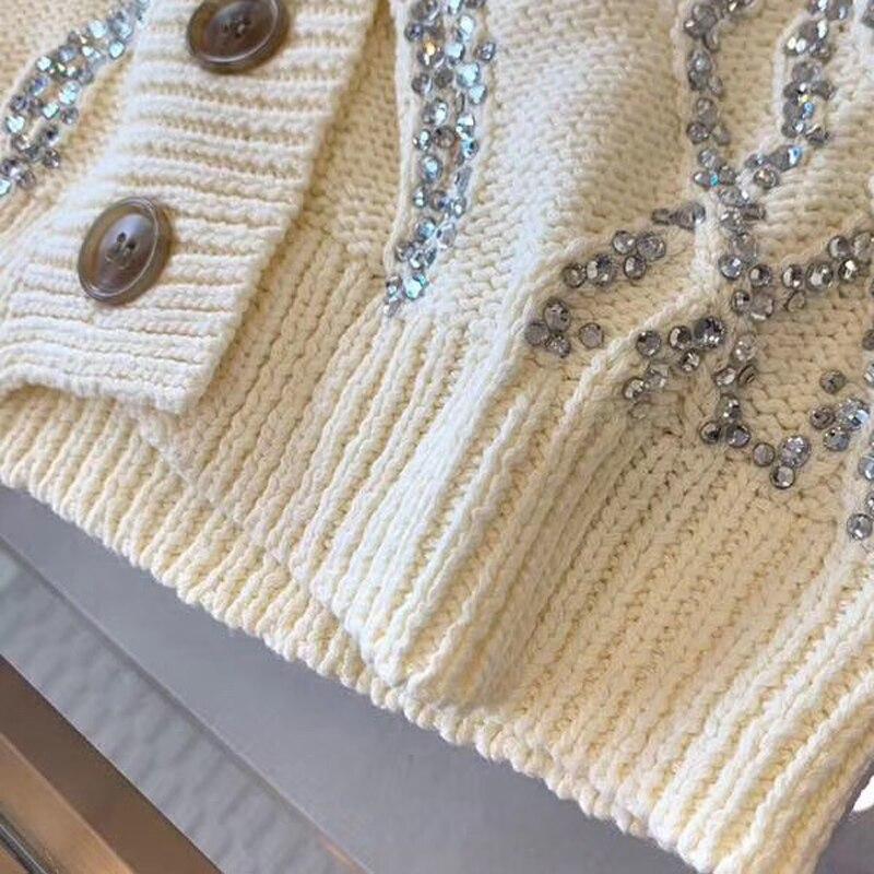 Supérieure Bleu Nouveau Décontracté Femme Marine Cardigans V Manches Mode cou Capuche Qualité La 2019 Printemps Femmes Longues Cardigan À Sweat Pour aaHF0wRq