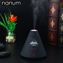 Aroma Essential Oil Diffuser Mini Ultrasonic Volcano Humidifier Air Purifier LED Night Light USB Car air freshener for Office цена и фото