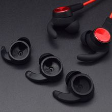 3 Pairs Soft Silicone Earbuds Cover In-Ear Tips Skin Earpiece Ear Hook Replacement for Huawei Honor AM61 Sport Bluetooth Headset 1 pair earbuds cover in ear tips soft silicone skin ear hook durable earpiece accessories sports bluetooth headset