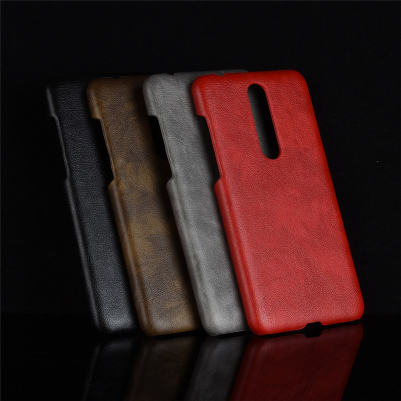 <font><b>Nokia</b></font> <font><b>3.1</b></font> Plus <font><b>Case</b></font> <font><b>Hard</b></font> PC Leather Phone <font><b>Case</b></font> For <font><b>Nokia</b></font> <font><b>3.1</b></font> Plus 3.1Plus TA-1113 TA-1115 TA-1118 TA-1125 TA-1104 <font><b>Case</b></font> image