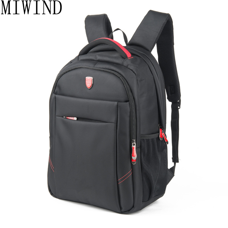 MIWIND Laptop Backpack for 15 inch Waterproof Nylon Backpacks Men backpack for teenage Male Business Backpack THD047