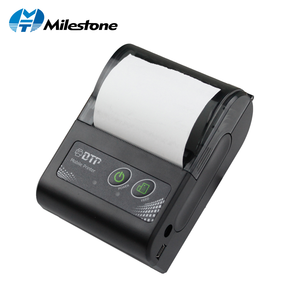 Marco 58 MM Mini Bluetooth Impressora Térmica Impressora de Recibos Sem Fio Portátil Máquina de factura para Windows Android IOS MHT-P10
