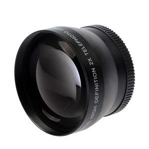 Image 2 - 46mm 2X magnification Telephoto Lens for Panasonic Lumix DMC FZ18 FZ28 FZ35 FZ38 Digital Camera