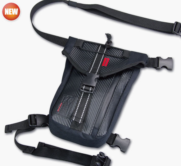 Komine motorcycle waterproof leg bag pocket mobile phone ...