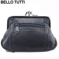 BELLO TUTTI Women S Leather Mini Cash Coin Case Purse